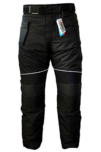 ea1b33a2 German Wear GW350T - Motorcycle pants, Black, 50 EU/M: Waist size ...